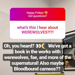 Connection to the Untitled Werewolf book
