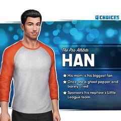 <i>Han the Pro Athlete</i> Sneak Peek Bio