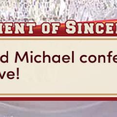 Michael & MC say
