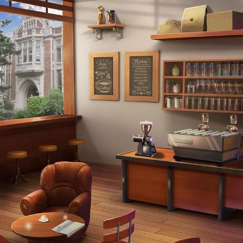 Coffee shop (day)