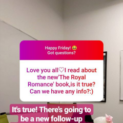 More on TRR Follow-up Series as of 01/11/2019