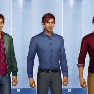 Male Initial Outfits