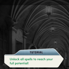 Unlocking new spells tutorial