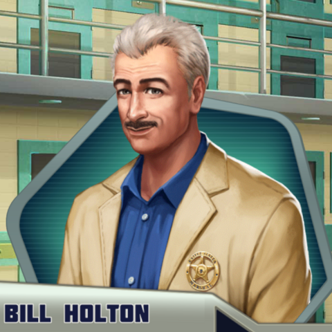 New appearance for Bill Holton