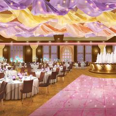 Ballroom inside Mistry Mansion in Ch. 11