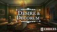 Desire & Decorum - Parlor Room Rivalry