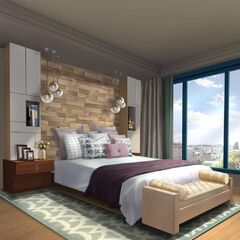 Bedroom in Penthouse option (Daytime)