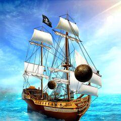 Cannons shot at <i>Poseidon's Revenge</i>