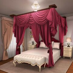 Bedroom in Old Hollywood Mansion (Daytime)