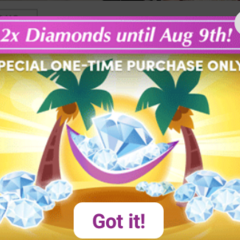 2 Times the Number of Diamonds Special