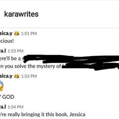 Kara talking TRH on PB's Slack