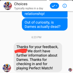 No confirmation on Dames' fate