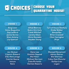 QuarantineHouse Challenge (Twitter) 4-10-2020