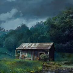 Swamp House in Ch. 10