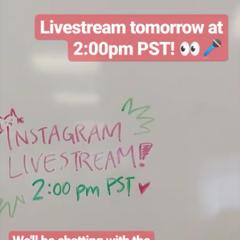 PB Announces Livestream for 04-26-19