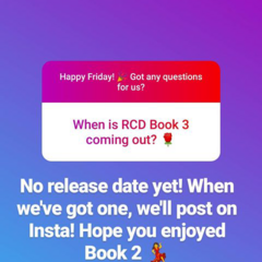 Info for RCD Book 3 from Insta