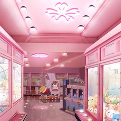 Arcade in Tokyo, Japan