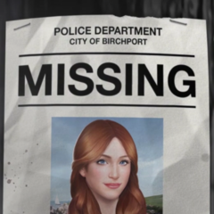 Kate's Missing Poster