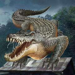 Giant Alligator in Ch. 10
