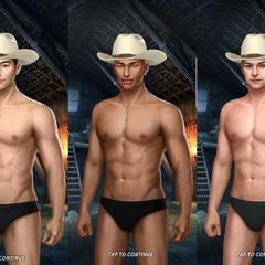 Underwear w/ Hat
