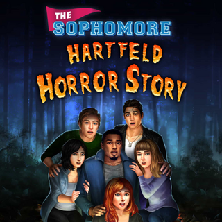 Zig on the cover of The Sophomore: Hartfeld Horror Story