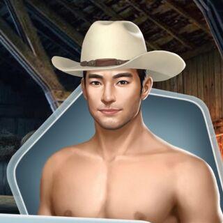Shirtless w/ Hat (Face 1)