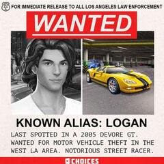 Logan's Wanted Poster Sneak Peek