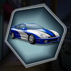 Pacific Blue Version of MC's 1998 Fourier Type-A Car