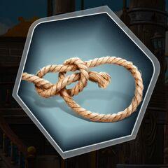 Boatswain bowline knot