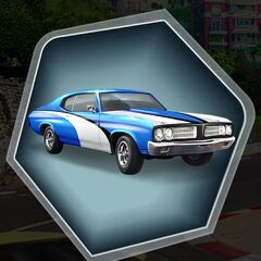 Pacific Blue Version of MC's 1969 Panther XX Car