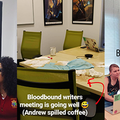Behind-the-Scenes on Bloodbound, Book 2
