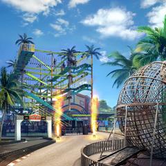 Enchantland roller coaster