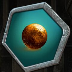 Gold Vorglin Orb
