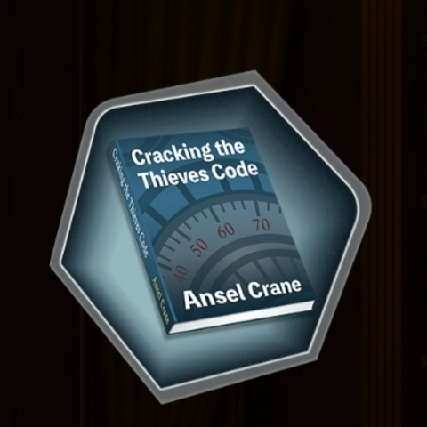 Ansel's Book <i>Cracking the Thieves Code</i>.