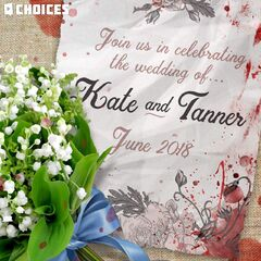 Kate and Tanner's Wedding Invitation