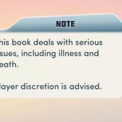 Prebook Warning
