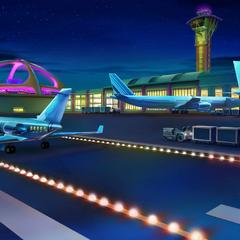 Airport (Night)