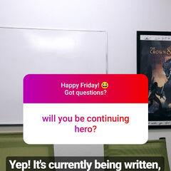 January 11, 2019 Update on Hero Vol. 2