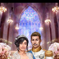MC and King <i>Liam</i> Face 3 Wedding Photo