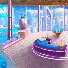 Floating Pools in Cyber