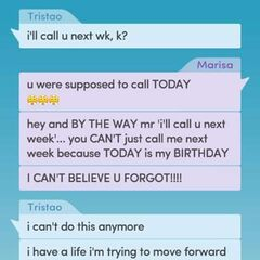 Tristao and Marisa's Text Convo in Ch 9