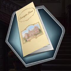 Barrington House pamphlet