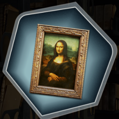 Mona Lisa at The Louvre in Ch. 3