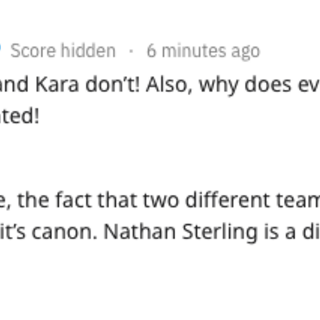 PB's Response to Nathan and VoS Sterling's Being Related