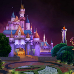 Enchantland Castle (night)