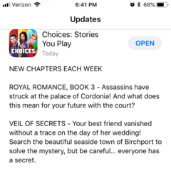 Latest App Update and new book
