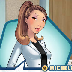 Michelle as a Doctor in her Ember of Hope