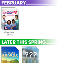 Choices Insiders (February 2020 Edition) - Release Schedule