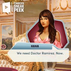 Sneak peek #3 featuring Hana