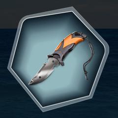 Finn's pocket knife